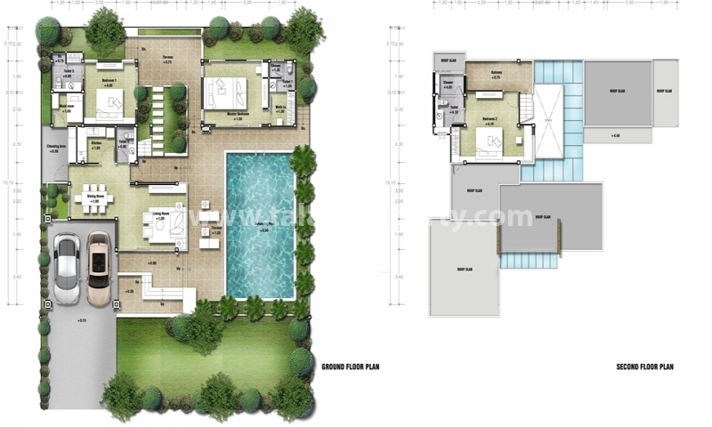 dessin de maison moderne avec piscine gallery of plan de maison moderne avec piscine elegant. Black Bedroom Furniture Sets. Home Design Ideas