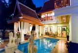 Beach front Villa for sale in Bang Saray