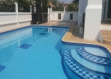 For rent 4 bedrooms house with private pool just 35 K