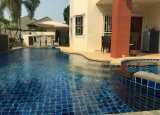 House with pool,a complete launch of home appliances and household